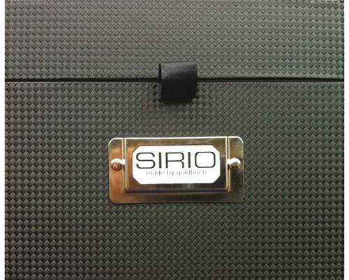 CD box Sirio zwart