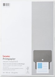 Inkjetpapier fotopapier Bruna A4 120gr wit 100vel