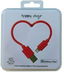 Kabel Hama Happy Plugs USB 2m rood