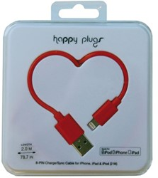 Kabel Hama Happy Plugs USB 2m zwart