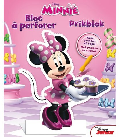 prikblok Deltas Disney Minnie Mouse