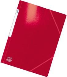 Elastomap Elba A4 glanskarton rood