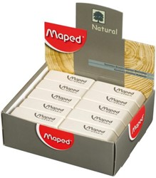 Gum Maped Dessin wit display à 40 stuks