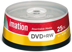 DVD+RW IMATION 4.7GB 4X SPINDEL