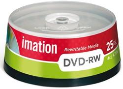 DVD-RW Imation 4x4.7GB spindel 25stuks