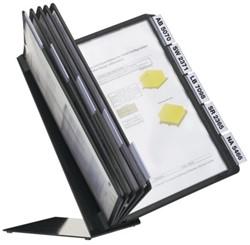 Bureaustandaard Durable 5570 Vario met 10-tassen A4 zwart