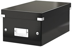 Dvd Box Leitz Click en Store 190x135x320mm zwart