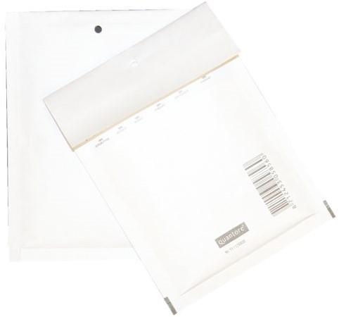 Envelop Quantore luchtkussen nr11 130x175mm wit 5stuks