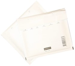 Cd envelop Quantore luchtkussen 175x200mm wit 100stuks