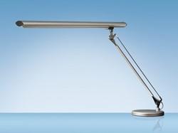 Bureaulamp Hansa met spaarlamp Grafilux aluminium