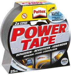 Plakband Pattex Power Tape 50mmx25m grijs