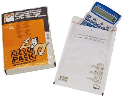 Envelop CleverPack luchtkussen nr14 202x275mm wit 10stuks