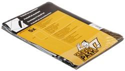 Envelop Claverpack protectpost 325x420mm zelfklevend wit 5st