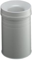 Papierbak met vlamdover Durable 3325-10 15liter lichtgrijs