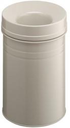 Papierbak met vlamdover Durable 3325-16 15liter grijs
