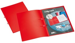 STRIPBINDER AVANTI A4 15MM 2 STRIPS ROOD