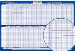 Jaarplanner LM 424222 vakantie 2016/2017 60x90 oprolbaar
