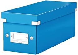 Cd box Leitz Click en Store WOW 143x136x352mm blauw