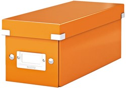 Cd box Leitz Click en Store WOW 143x136x352mm oranje