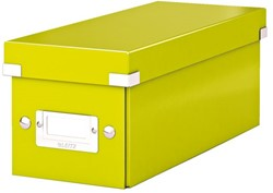 Cd box Leitz Click en Store WOW 143x136x352mm groen