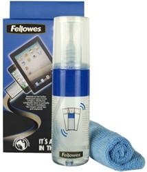 Reinigingsspray en doekjes Fellowes 2-in-1 125ml