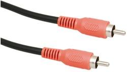 Kabel Icidu audio digital coax connection M/M 3meter rood