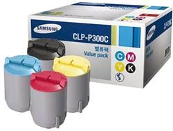 Tonercartridge Samsung CLP-P300AC zwart + kleur