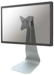 Flatscreenarm Newstar D800 bureauvoet zilver