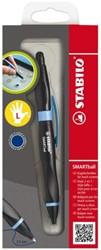 Balpen Stabilo Smartball links zwart/blauw 0.5mm