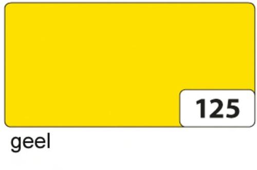 Etalagekarton folia 48x68cm 400gr nr125 geel