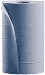 Poetsrol Satino Comfort 1-laags 20cmx120m blauw 12rollen