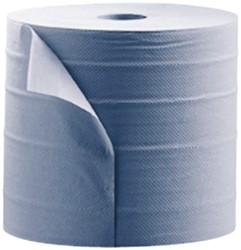 Poetsrol Satino Comfort 2-laags 25cmx370m blauw 2rollen