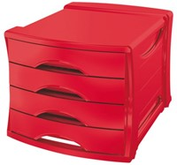 LADENBOX VIVIDA 4 LADEN ROOD