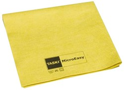 Microvezeldoek Taski geel voor in de keuken
