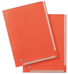 Binnenmap Elba for business 6tabs oranje/beige