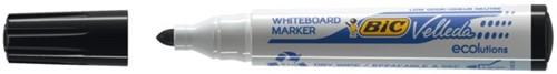 Viltstift Bic 1701 whiteboard rond zwart 1.5mm