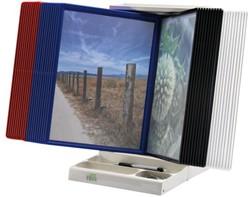 Bureaustandaard Flex-O-Frame Superior zonder tassen A4 grijs
