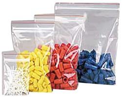 Verpakkingszak grip hersluitbaar 50my 160x230mm 25 stuks