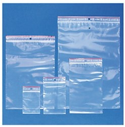 Verpakkingszak grip hersluitbaar 50my 40x60mm 100 stuks