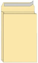 Envelop Quantore monsterzak 230x350x38mm zelfkl creme 125st