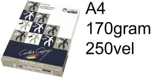 Laserpapier Color Copy gloss coated A4 170gr wit 250vel