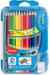 Kleurpotloden Maped box met 12stuks assorti