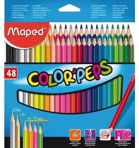 Kleurpotloden Maped doos me 48stuks assorti