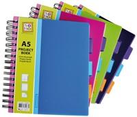 Projectboekk A5 3-tabs 200vel-3