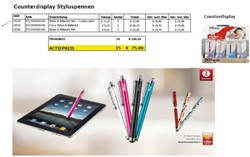 Display Trust counter Stylus