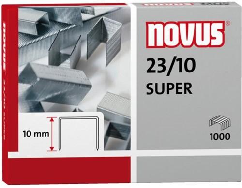 Nieten Novus 23/10 verzinkt super 1000stuks