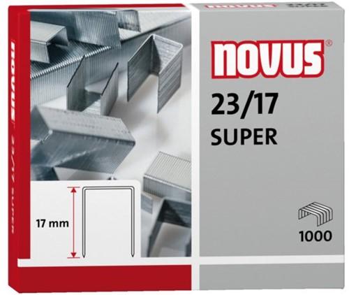 Nieten Novus 23/17 verzinkt super 1000stuks