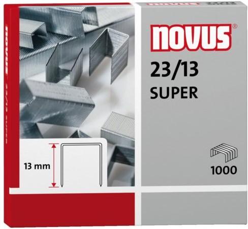 Nieten Novus 23/13 super verzinkt 1000stuks