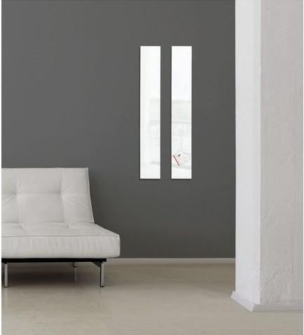 Glasbord Sigel magnetisch 120x780x15mm wit