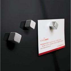 Glasbord Sigel magnetisch 300x300x15mm zwart